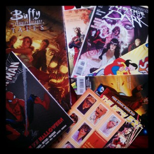 FCBD haul: Spider-man, Buffy, Justice League Dark, DV8, Escapist