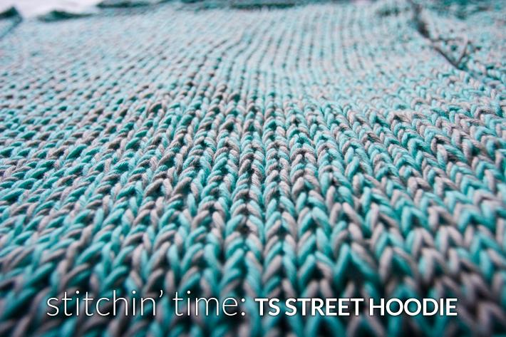 Stitchin' Time- TS Street Hoodie