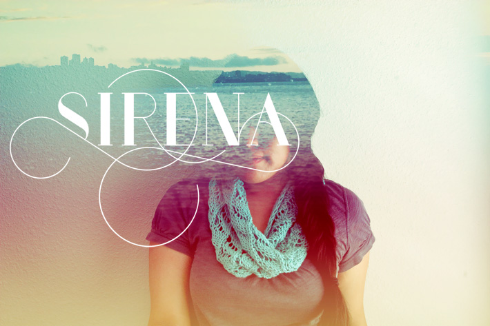 Sirena knitting pattern Emmyelle